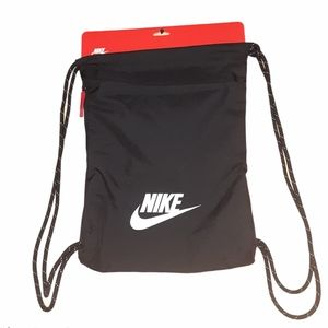 Nike Heritage 2 Gymsack Black/white